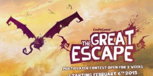 Launch of The Great Escape contest on February 6th