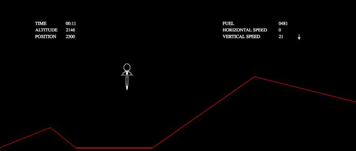 Mars Lander coding puzzle