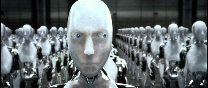 Artificial Intelligence in I Robot movie
