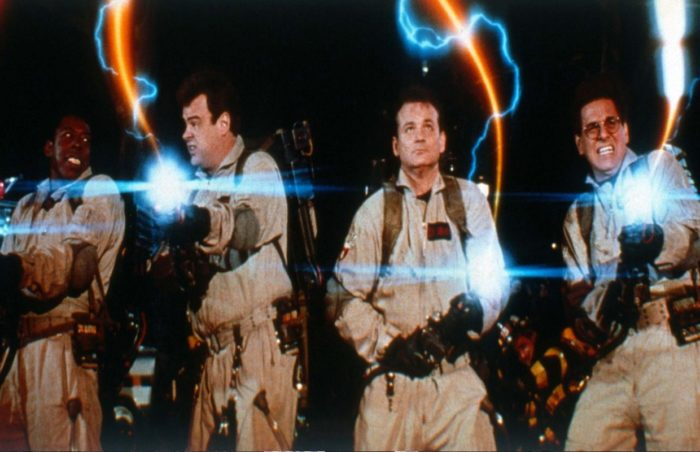 Hunting ghosts with the ghostbusters