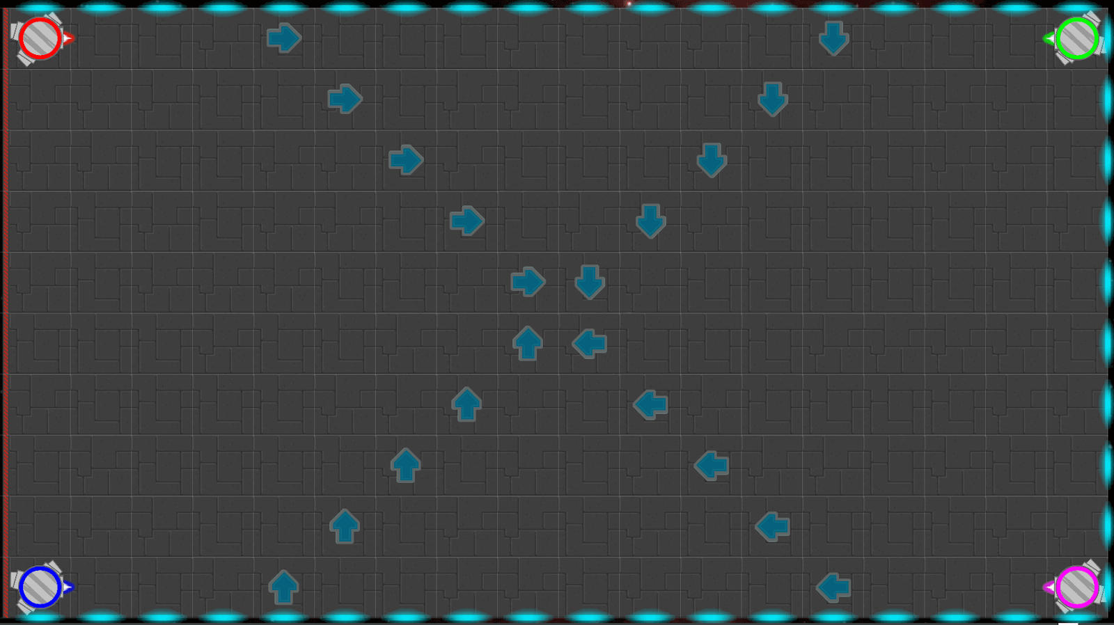 A*Craft board with no space tile