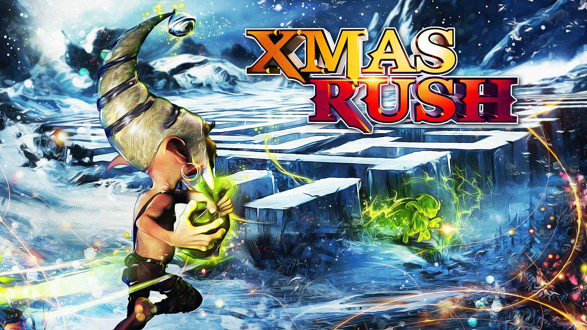 Xmas Rush coding contest artwork