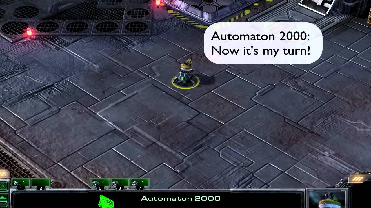 "automaton2000 saying ""now it's my turn"""