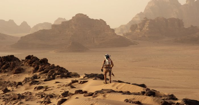The martian movie: dedication can make wonders