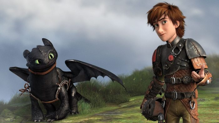 How to train your dragon movie cover