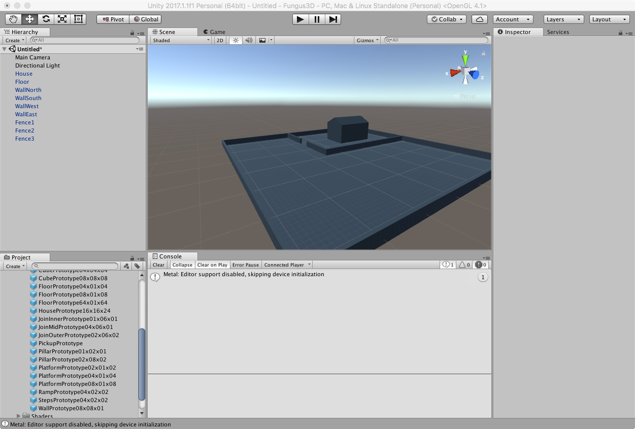 Creating the Scene - Unity3D and Fungus Tutorial: PickUps