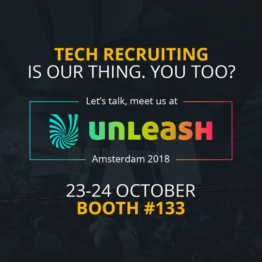 CodinGame at Unleash Amsterdam 2018