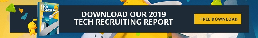Download our 2019 tech recruiting report